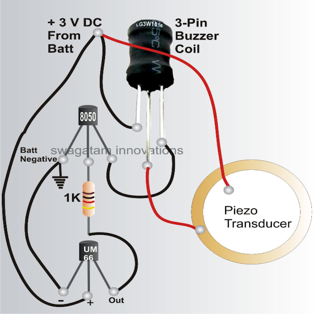 circuit diagram horn for bicycle