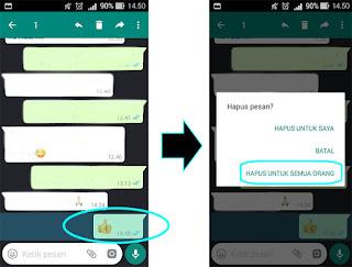 Whatsapp langkah 3