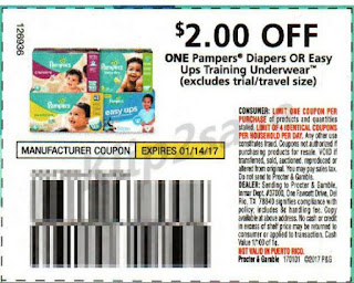 Pampers printable coupons canada 2018
