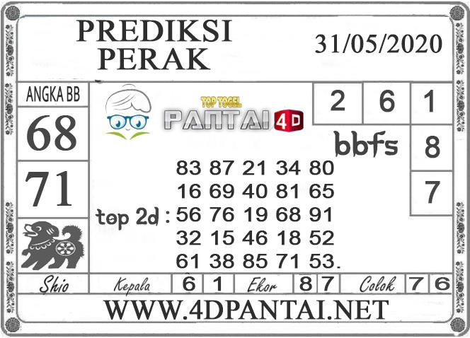 PREDIKSI TOGEL PERAK PANTAI4D 31 MEI 2020
