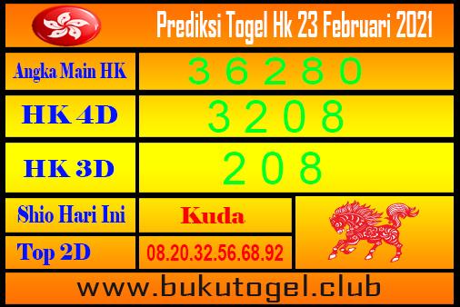 Hk Forecast 23 Februari 2021