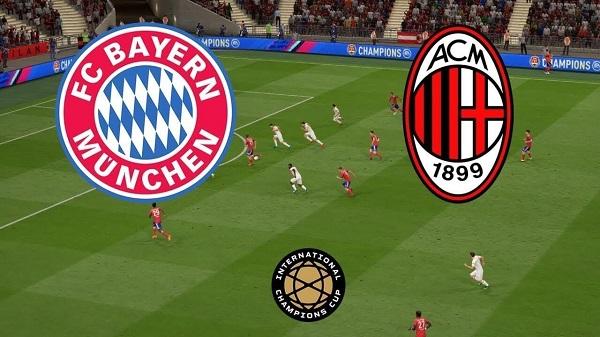 بث مباشر مشاهدة مباراة بايرن ميونخ وميلان في الكأس الدولية للأبطال 2019