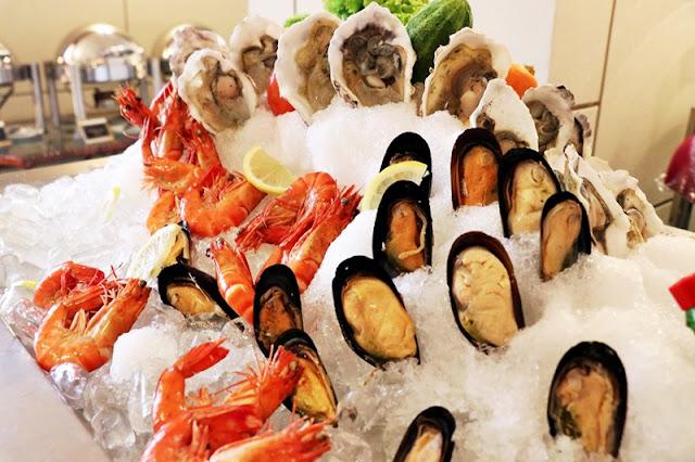Buffet Shah Alam Menu - Seafood On Ice