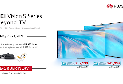 Experience Future of TV: the HUAWEI Vision S Series is finally in the Philippines
