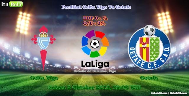 Prediksi Celta Vigo Vs Getafe - ituBola
