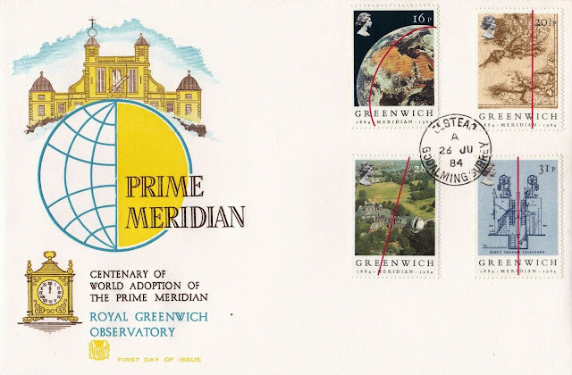 GB FDC - Greenwich Meridian - The Old Observatory