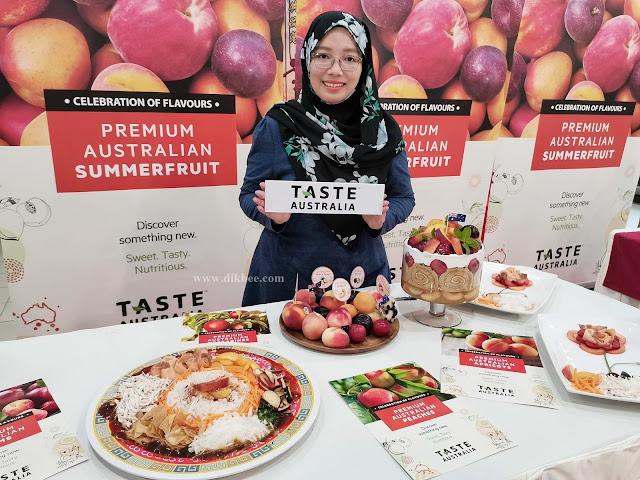 Taste Australia Anjur Kempen Untuk Buah-Buahan Musim Panas Sempena Musim Perayaan