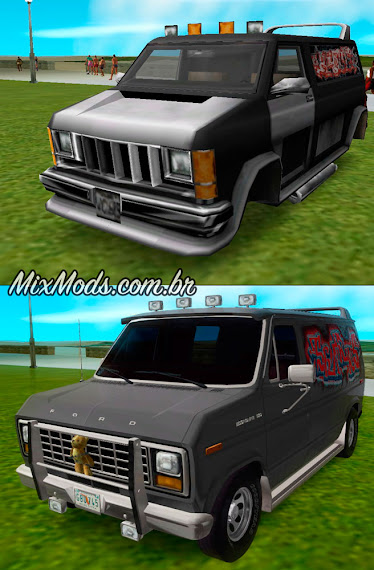 gta vc vice city mod pack carros hd car vehicles gang burrito