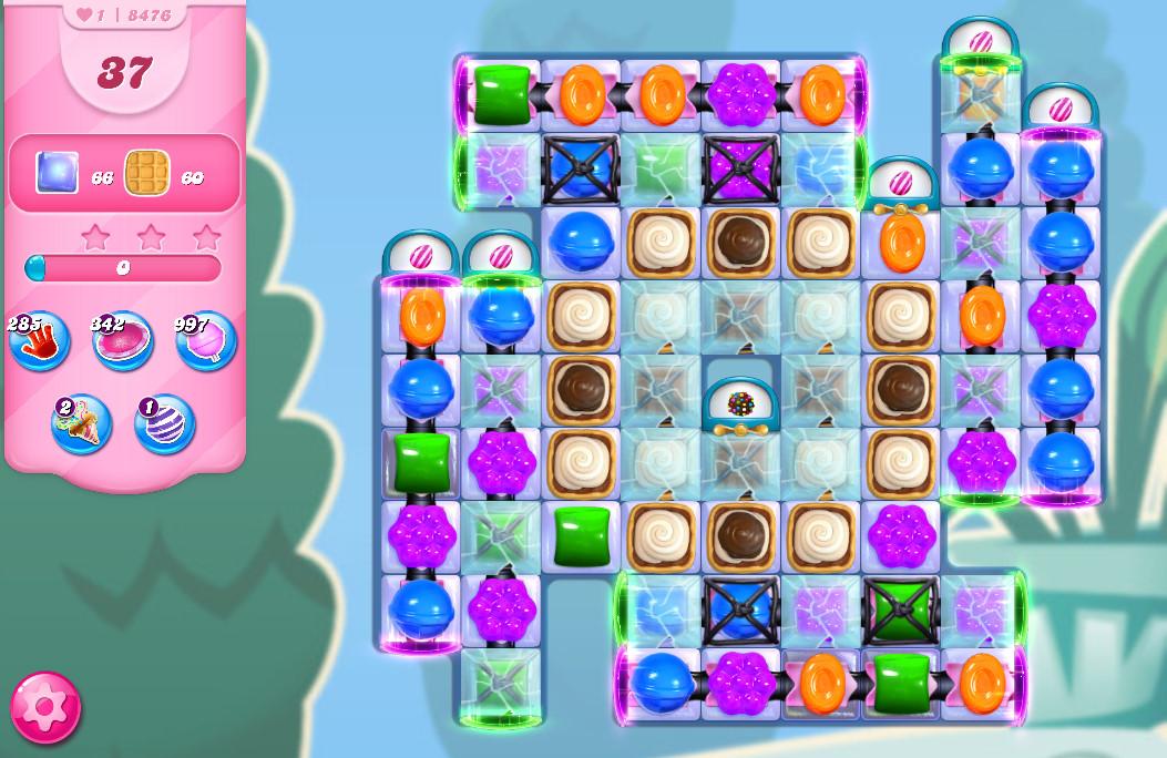 Candy Crush Saga level 8476
