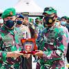 Pangdam Hasanuddin Melepas Satgas Bencana Alam TNI AD di Sulbar