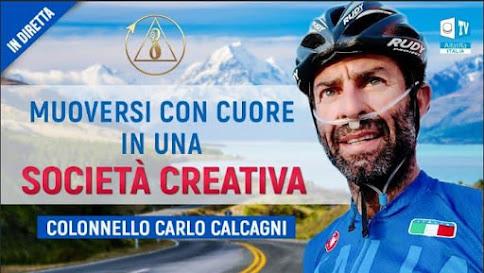 DIRETTA TV CON IL COLONNELLO CARLO CALCAGNI