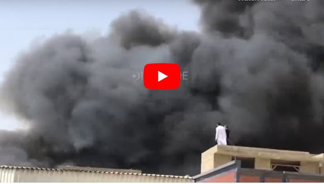Pakistan International Airline Flight with 107 on Board crashed in Residential Area of Karachi