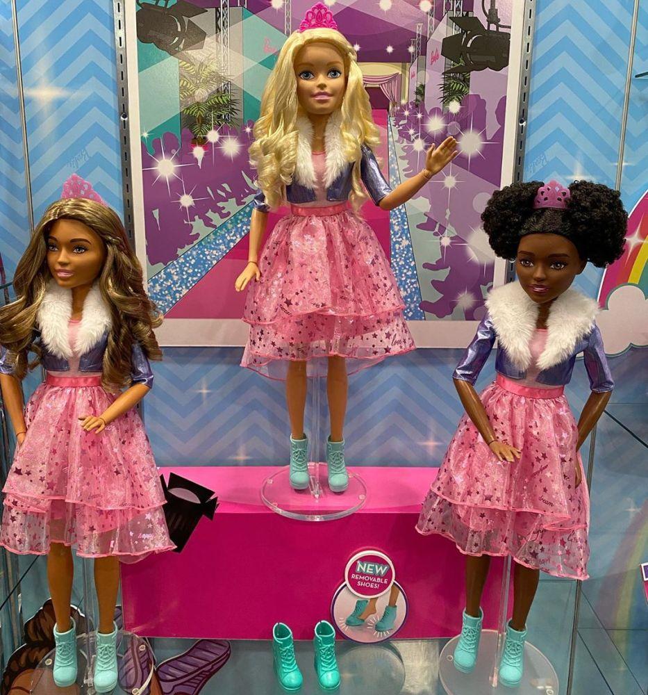 "Большая кукла Barbie Princess Adventures 28"" (71 см) новинки игрушек 2020"