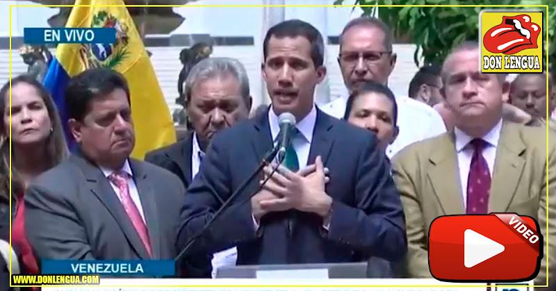 Guaidó acusó al régimen de Maduro de estar detrás de la explosión de escuela de policías en Colombia
