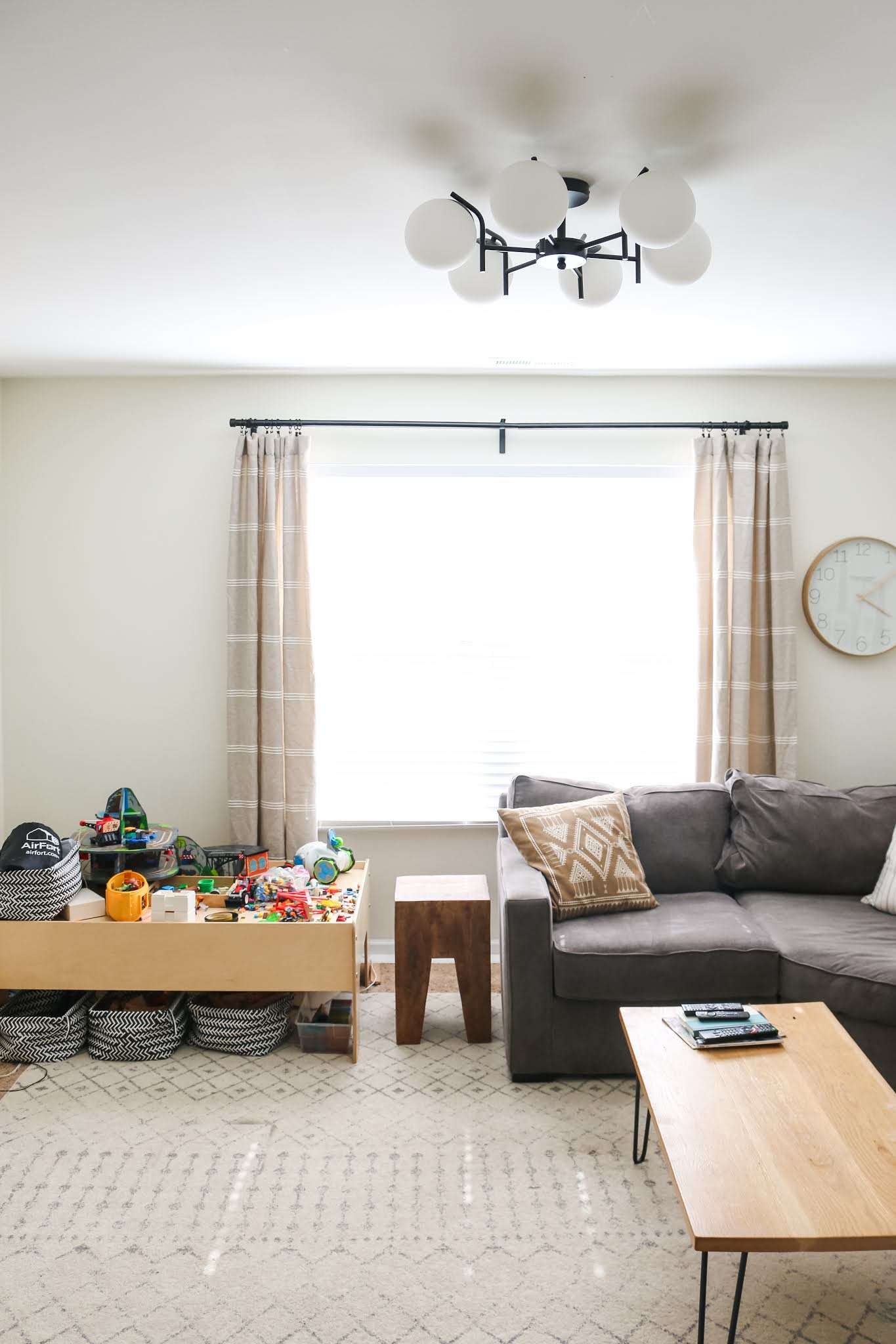 Before and After Family Room Reveal!