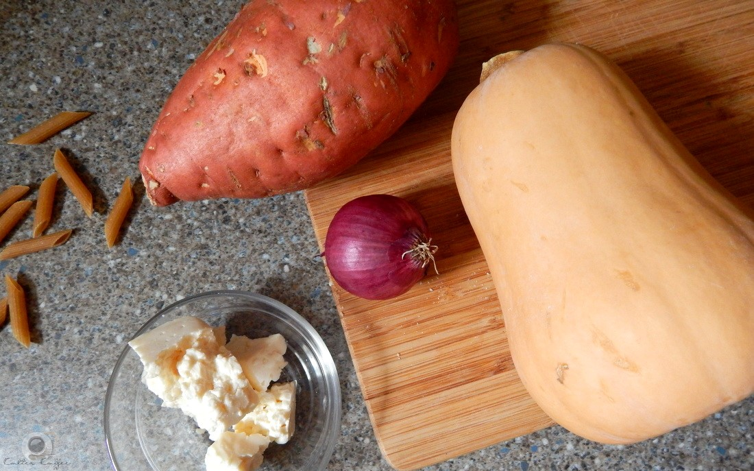 Pasta Süßkartoffel Rezept