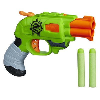 Súng Nerf Zombie Strike Doublestrike Blaster