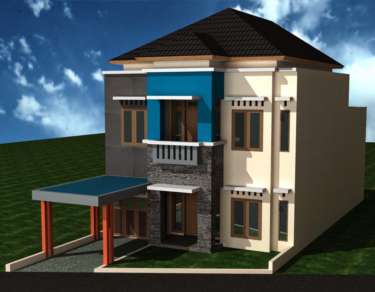 Desain Rumah Minimalis Modern Lengkap Gambar Desain
