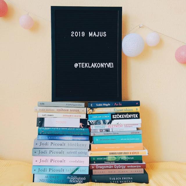 2019. májusi beszerzések a teklakonyvei / Tekla Könyvei blogon, könyves haul