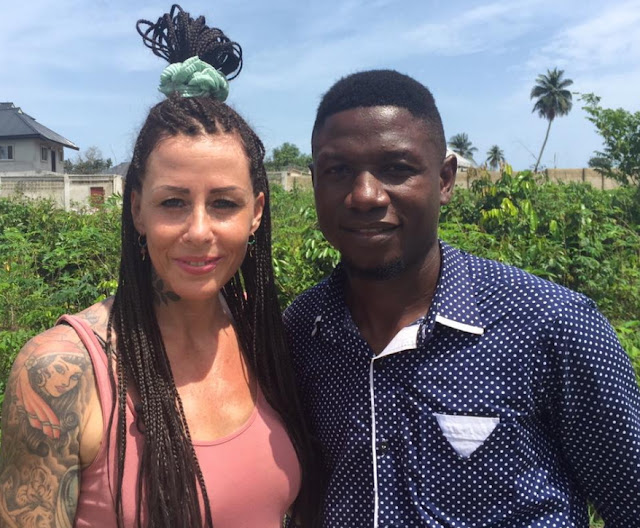 Anja Ringgren Loven Is Married To A NigerianSee Her Husband David Emmanuel Umem PHOTOS