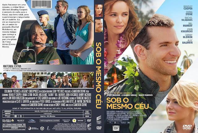 Capa DVD Sob O Mesmo Céu