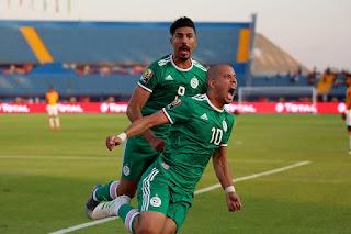 ربع نهائي كأس الامم الافريقيه   تونس والجزائر يعبرون الى المربع الذهبي