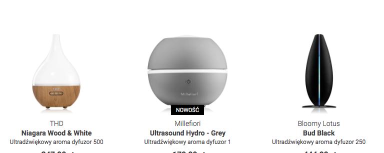 dyfuzor ultradźwiękowy