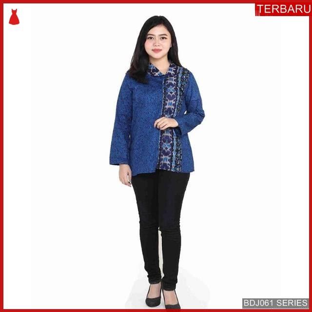 BDJ61B19 Blouse Batik 0065 Terbaru BMGShop