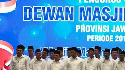 JK Lantik Pengurus DMI Jatim: Dukung Program Gubernur Khofifah Jatim Berkah hingga Tangkal Kaum Radikal Kuasai Masjid