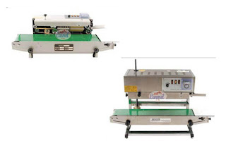 Mesin Continuous Band Sealer FRB770II