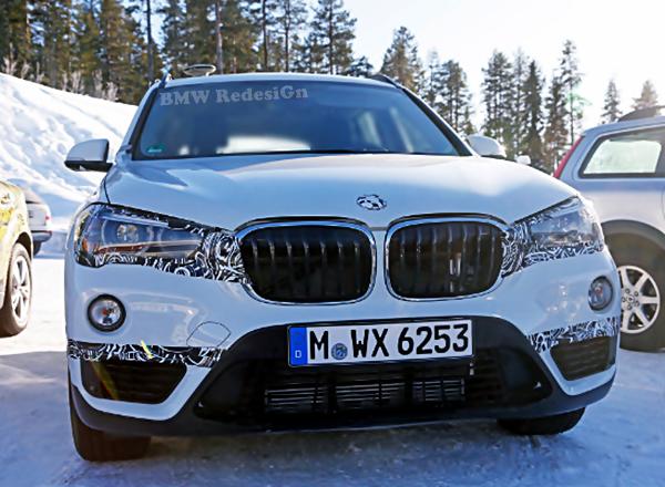 2017 BMW X1 PHEV Plug-in Hybrid Spied Testing