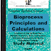 Bioprocess Principles and Calculations PDF Study Materials cum Notes, E-Books Free Download