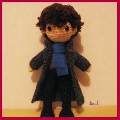 Sherlock facil amigurumi