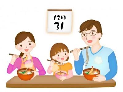Kehidupan di Jepang.  5 Hal Unik saat Akhir Tahun. Salah satunya Makan Mie Soba.