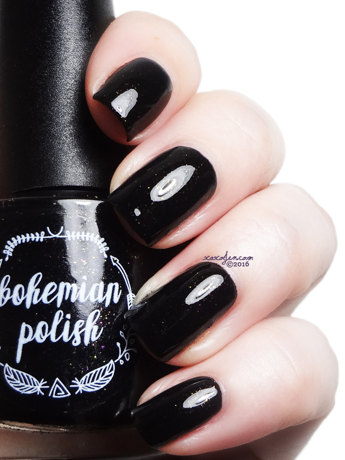 xoxoJen's swatch of Bohemian Polish Bo-bomb Dot Com