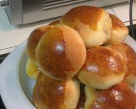 Imagem do pão caseiro assado e fácil de fazer
