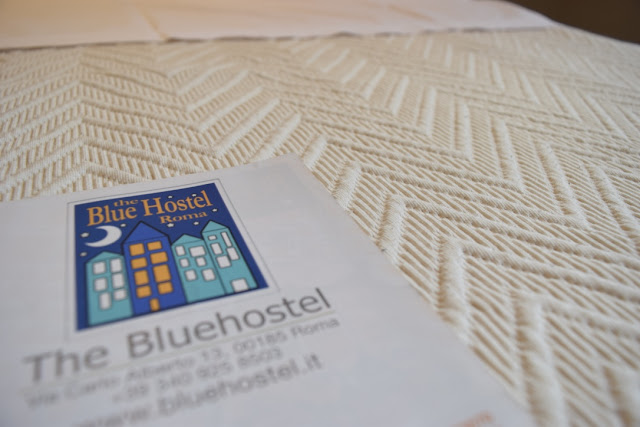 blue hostel rome cheap stay