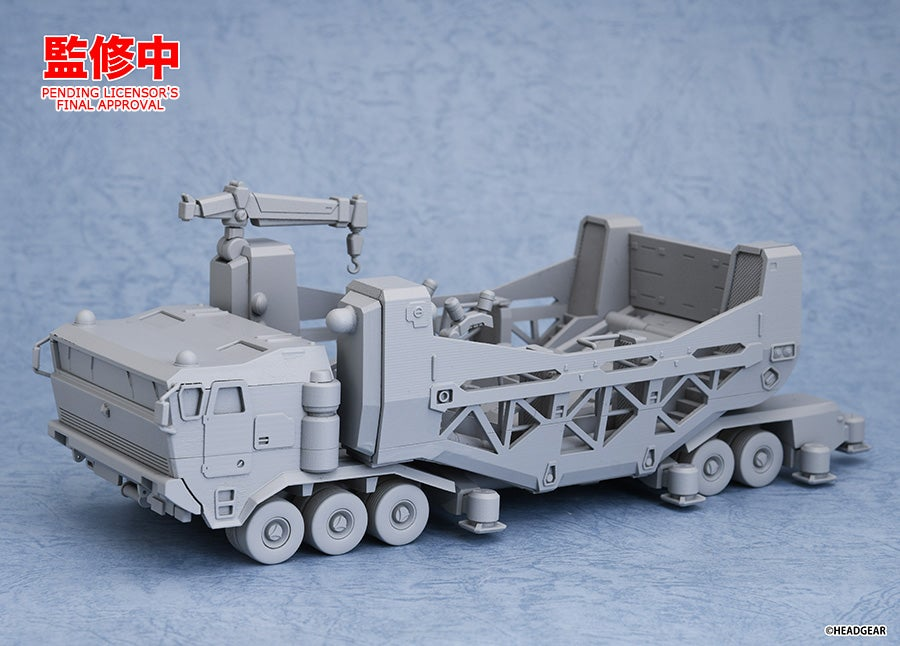 Mobile Police Patlabor - MODEROID Type 98 Special Control Vehicle + Type 99 Special Labor Carrier (Good Smile Company)