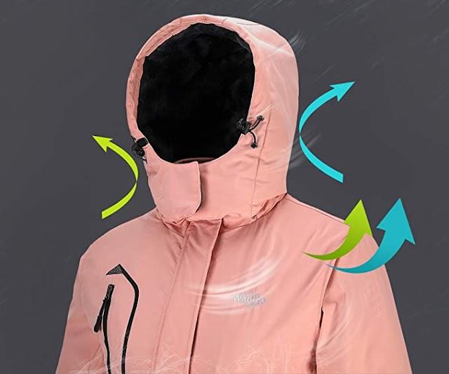 The Best Women's Waterproof Ski Jacket Windproof Rain Jacket Winter Warm Snow Coat Shopping Guide