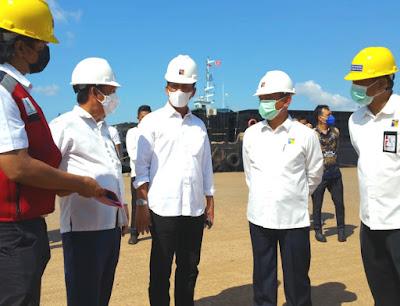 Kepala dan Deputi IV BP Batam, Kembali Tinjau Pelabuhan Kontainer Batu Ampar