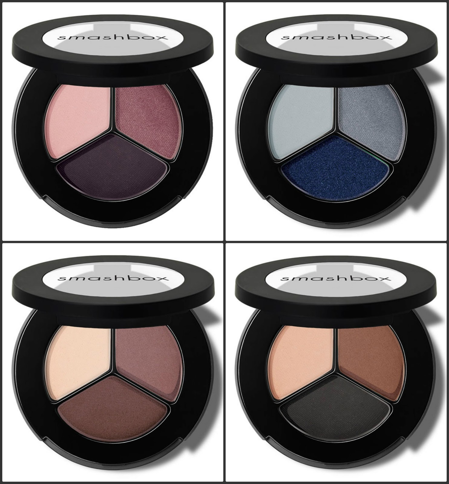 New Bold Shades In Smashbox Photo Op Eyeshadow Trio Range My