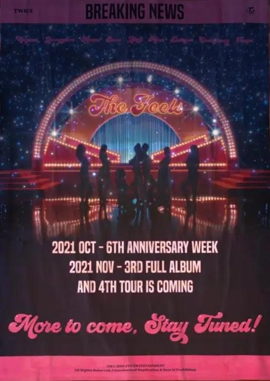 TWICE Will Release Third Full Album Soon