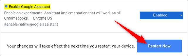 كيفية تفعيل مساعد جوجل على أجهزة Chromebook؟