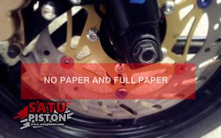 Arti Motor No Paper dan Full Paper