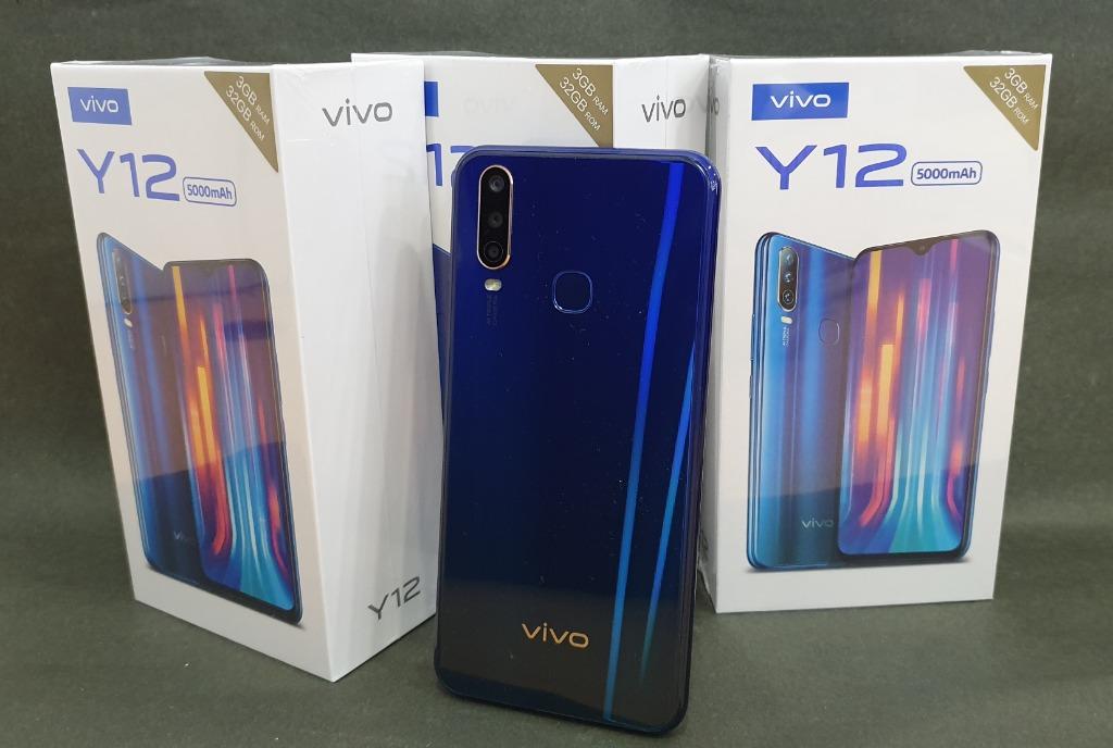 Daftar harga dan spesifikasi terbaru hp vivo di bulan september 2021, cek harga vivo y21s, vivo v20, vivo y12, hingga x60 series. Vivo Y12 Indonesia, Triple Kamera Harga 2 Jutaan Terbaik? Spesifikasi Vivo Y12 - Smart Balbol