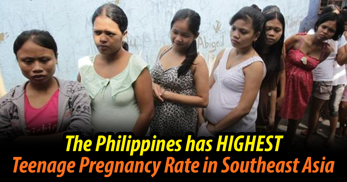 The Philippines Has Highest Teenage Pregnancy Rate In -5649
