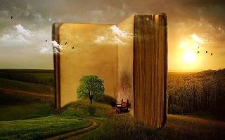 Libro en paisaje