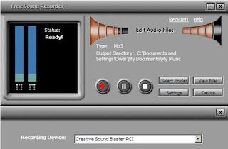 Software perekam suara