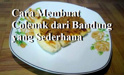 Cara Membuat Colenak dari Bandung yang Sederhana