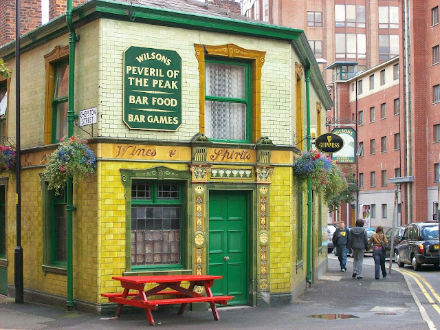 Peveril of the Peak Pub Manchester